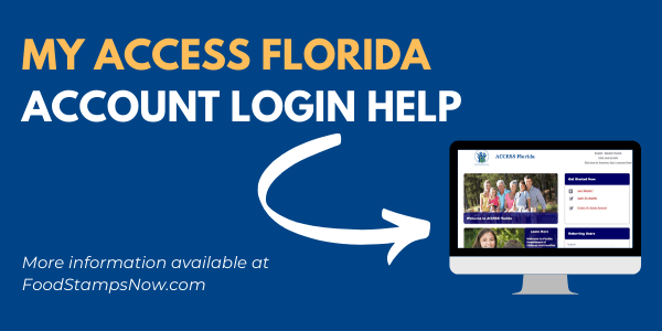 My Access Florida Account Login Help