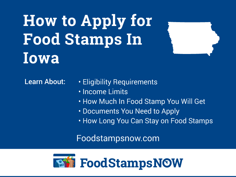 Apply for Food Stamps in Iowa