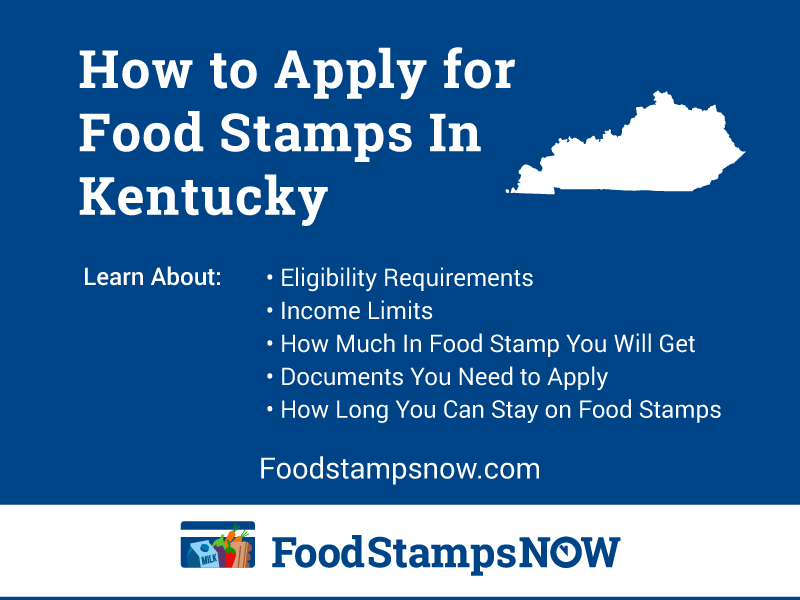 Apply for Food Stamps in Kentucky