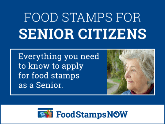 """Food Stamps for Seniors"""