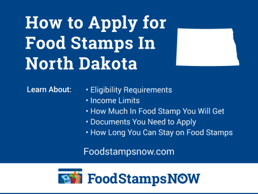 """How to Apply for Food Stamps in North Dakota Online"""