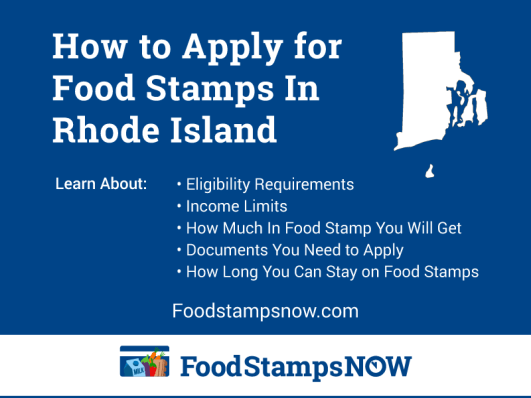 """How to Apply for Food Stamps in Rhode Island"""