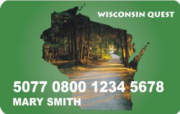 """Wisconsin Quest EBT Card"""