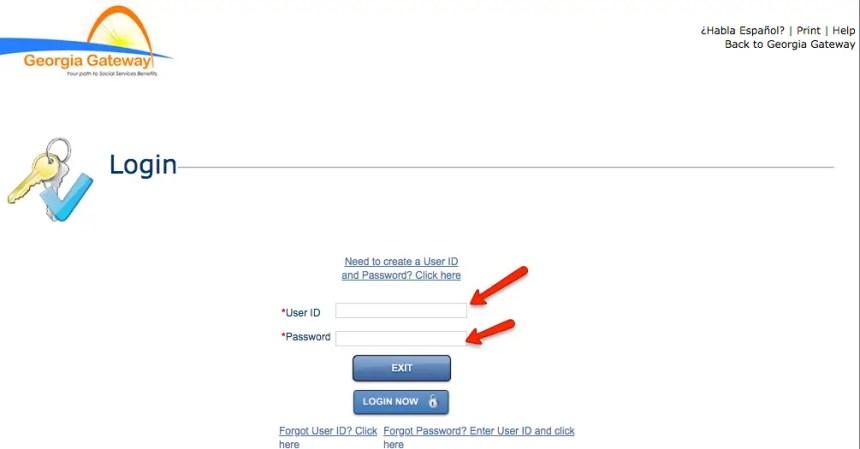 """""""Gateway.ga.gov Account Login"""""""