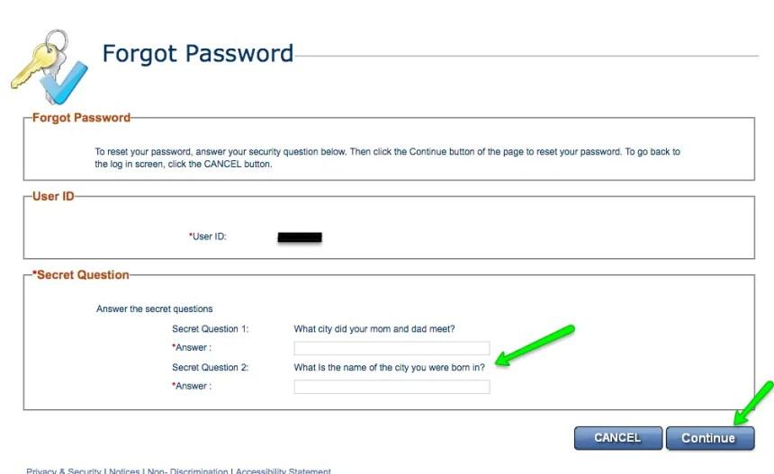 """""""Gateway.ga.gov Forgot Password"""""""