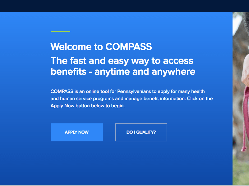 How to Create Compass state pa us Account - Food Stamps Now