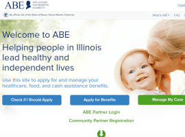 """Create Application for Benefits Eligibility (ABE) Account"""
