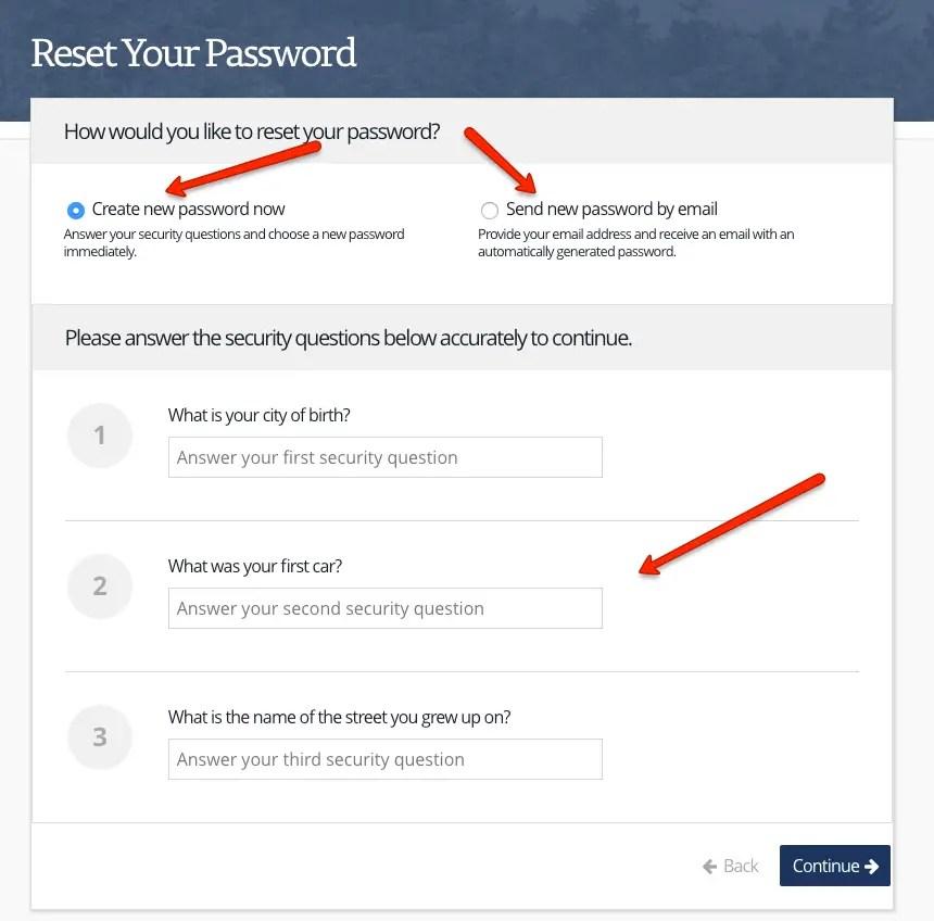 """TN DHS Account password reset - 1"""