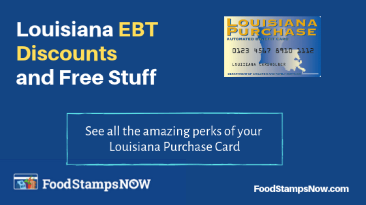 """Louisiana EBT Discounts"""