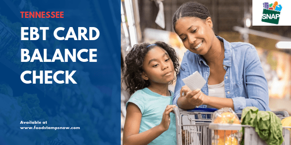 """Tennessee EBT Card Balance Check"""