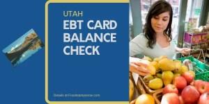"""Check Your Utah EBT Card Balance"""