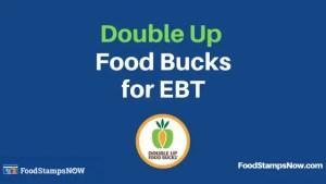 """Double Up Food Bucks for EBT"""