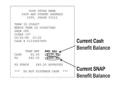 """Oregon Trail Card EBT Balance check"""