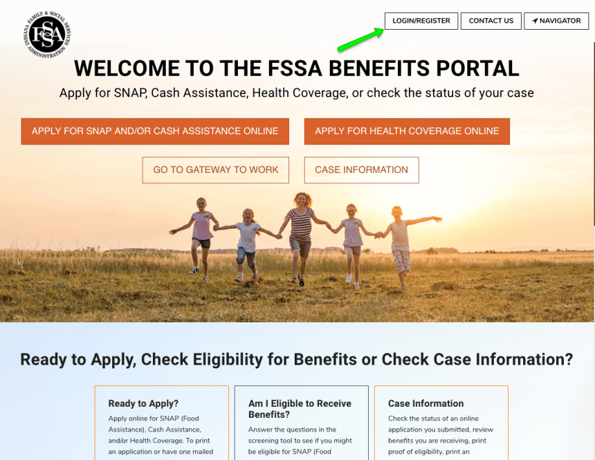"""Indiana FSSA Benefits Portal Login Help"""