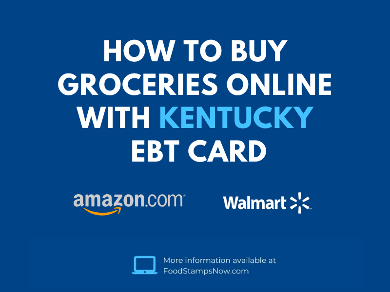 """Buy Groceries Online with Kentucky EBT"""