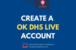 How to Create a OK DHS Live Account
