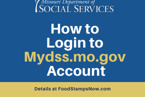 """How to Login to Mydss.mo.gov Account"""