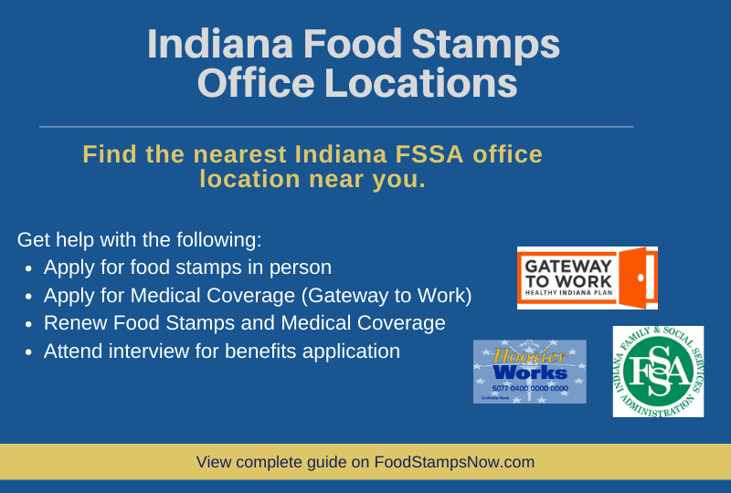 """Indiana Food Stamps Office"""