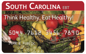 South Carolina EBT Card