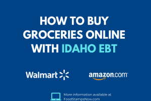 Buy groceries online with your Idaho EBT Card