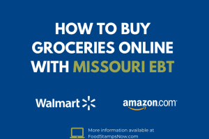 Buy groceries online with your Missouri EBT Card