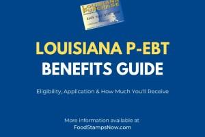 Louisiana P-EBT Benefits Guide