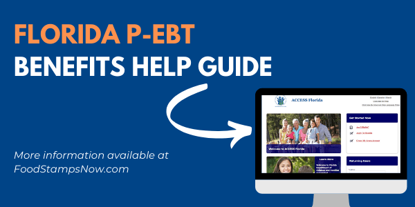 Florida P-EBT Benefits Help Guide