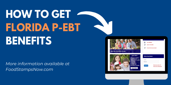 How to get Florida P-EBT Benefits