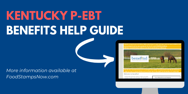 Kentucky P-EBT Benefits Help Guide