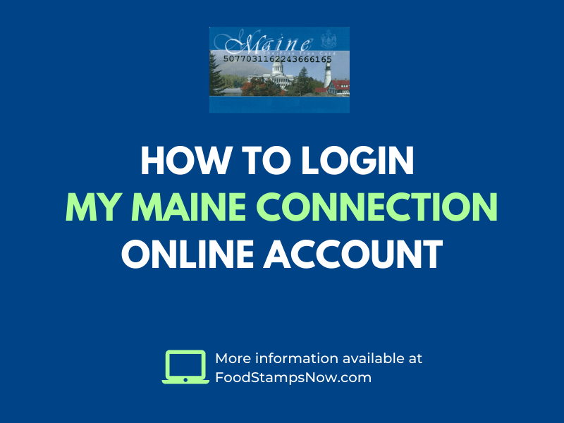 How to login My Maine Connection Online Account