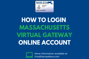 How to login Massachusetts Virtual Gateway Online Account