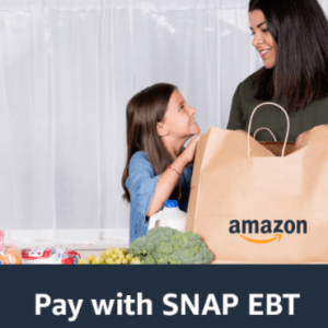 """Pay with Food Stamps EBT on Amazon"""