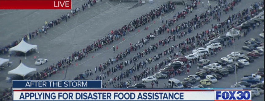 """Disaster Food Stamps for Hurricane Florence"""