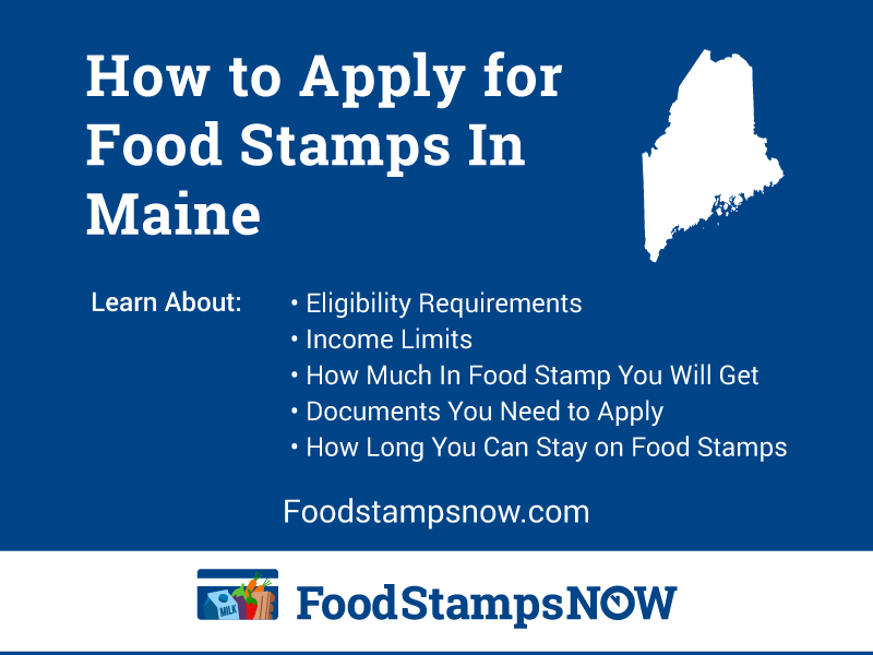 Apply for Food Stamps in Maine