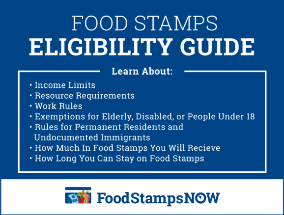 """""""Food stamps eligibility guide"""""""