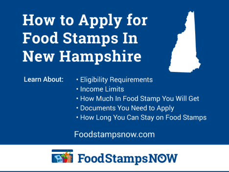 """How to Apply for Food Stamps in New Hampshire Online"""