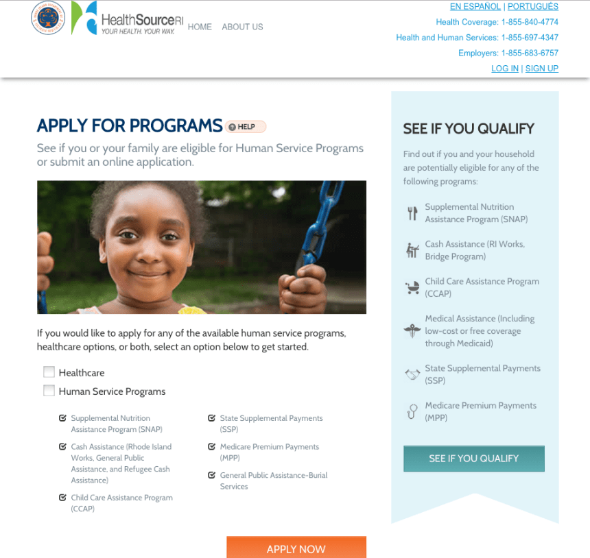 """How to Apply for Food Stamps in Rhode Island Online"""