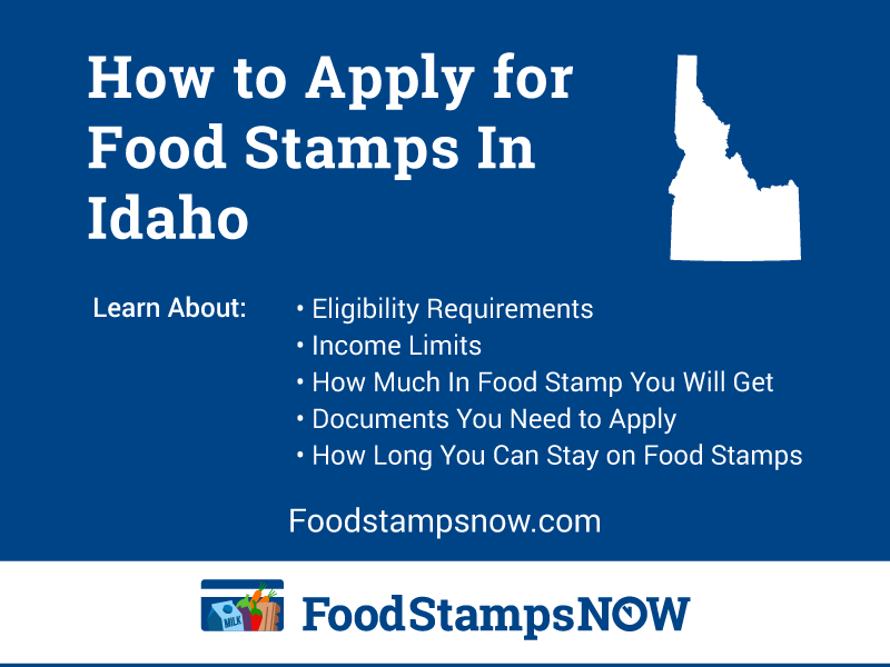 How to Appy for Food Stamps in Idaho