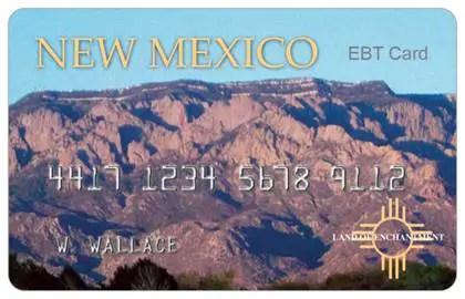 """""""New Mexico EBT Card"""""""