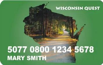 """""""Wisconsin Quest EBT Card"""""""