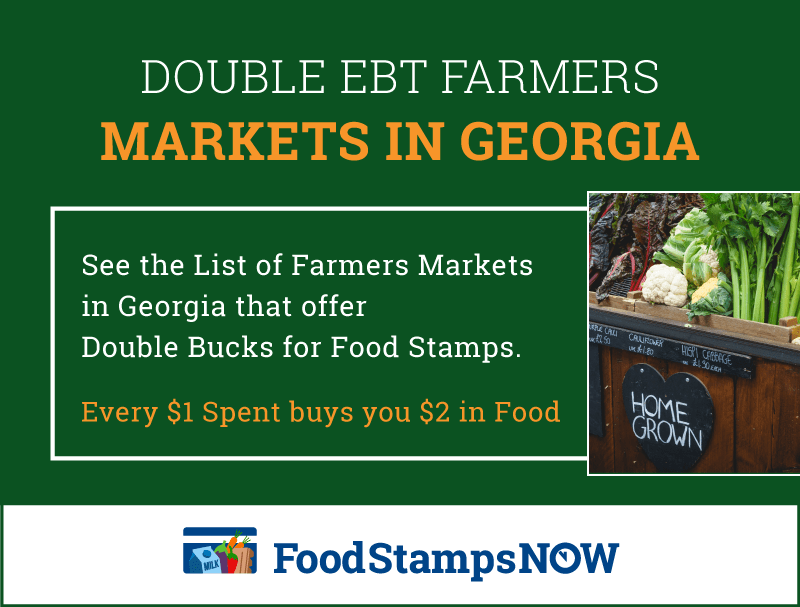 """Double EBT Farmers Markets"""