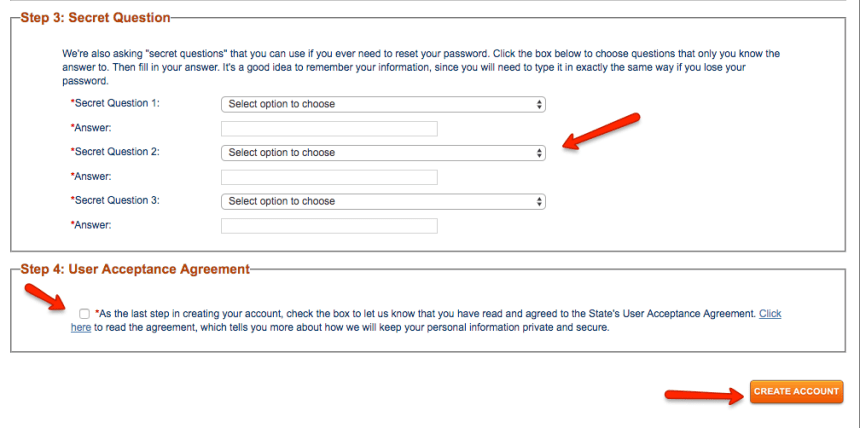 """How to Create Gateway.ga.gov Account - 2"""