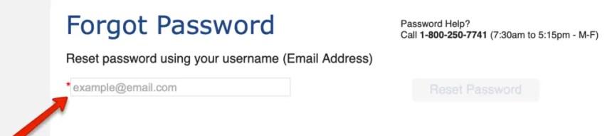 Colorado PEAK Password Reset 2