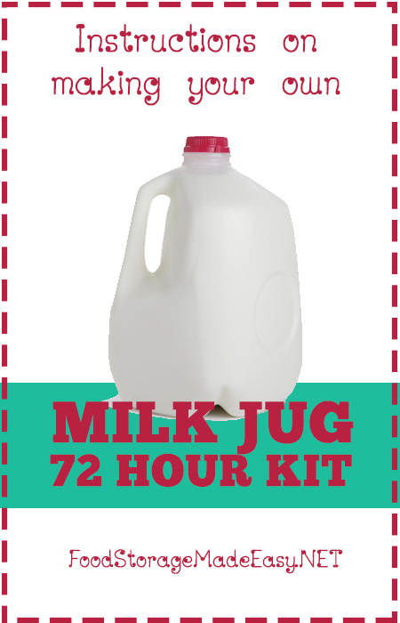 Milk Jug 72 Hour Kit
