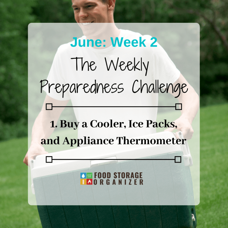 Prep Supplies for a Power Outage • June Prep Challenge #2