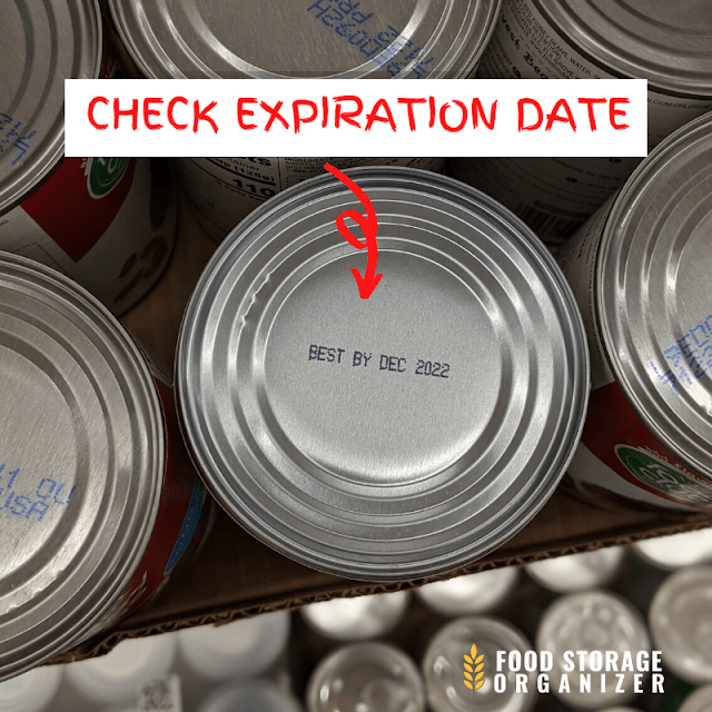 Check Expiration Dates When You Stock Up