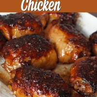 Honey Garlic Chicken (plus some really tasty sauce!) - Dishes and Dust Bunnies