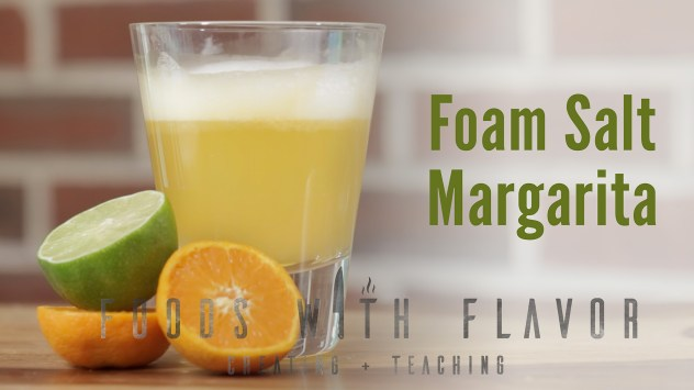 Foam Salt Margarita recipe.