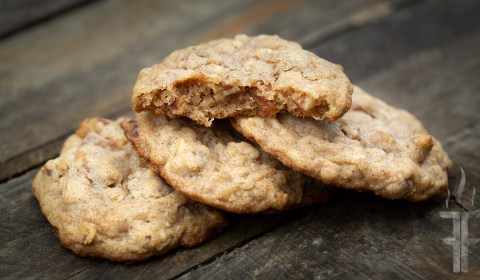 How to make two different cookies Maple Almond and Maple Pecan out of the same exact ingredients.