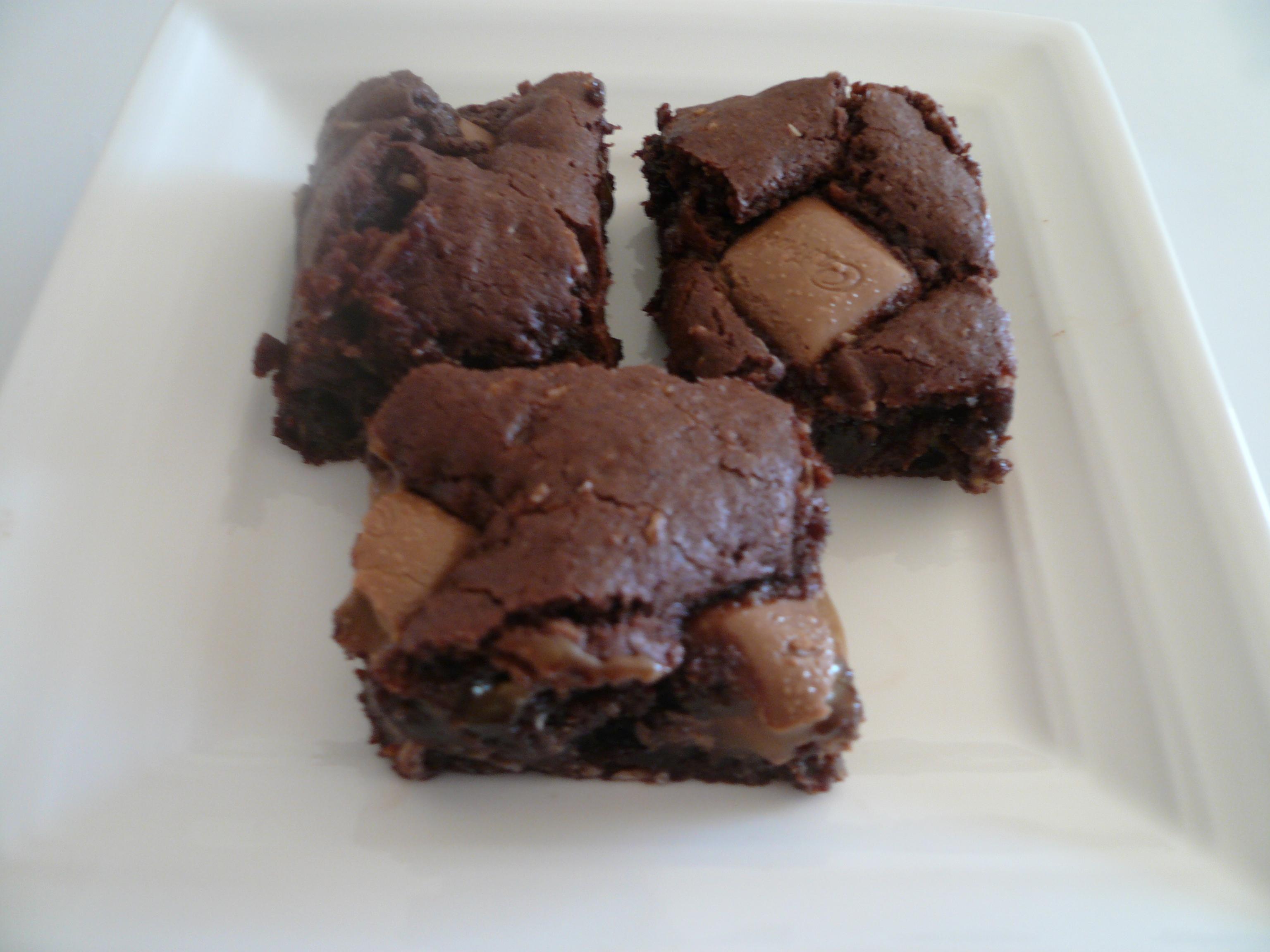 Chocolate Fudge Slice With Caramello Chocolate